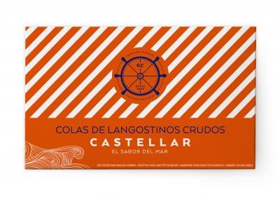COLAS DE LANGOSTINO CRUDAS