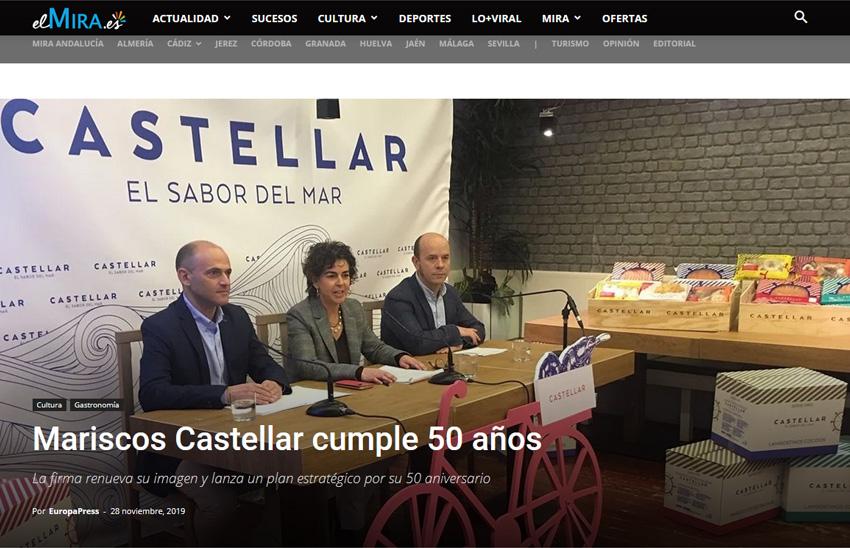 EL MIRA ANDALUCIA – Mariscos Castellar cumple 50 años –