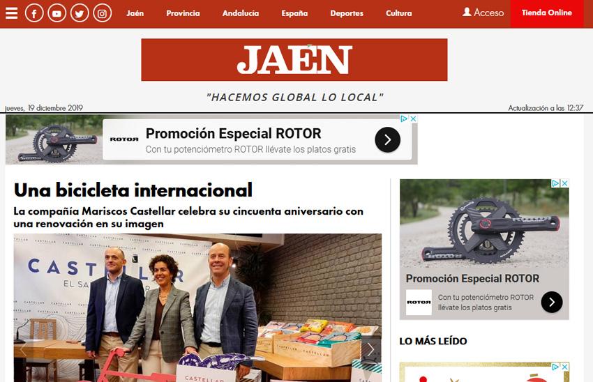 DIARIO JAÉN – Una bicicleta internacional-