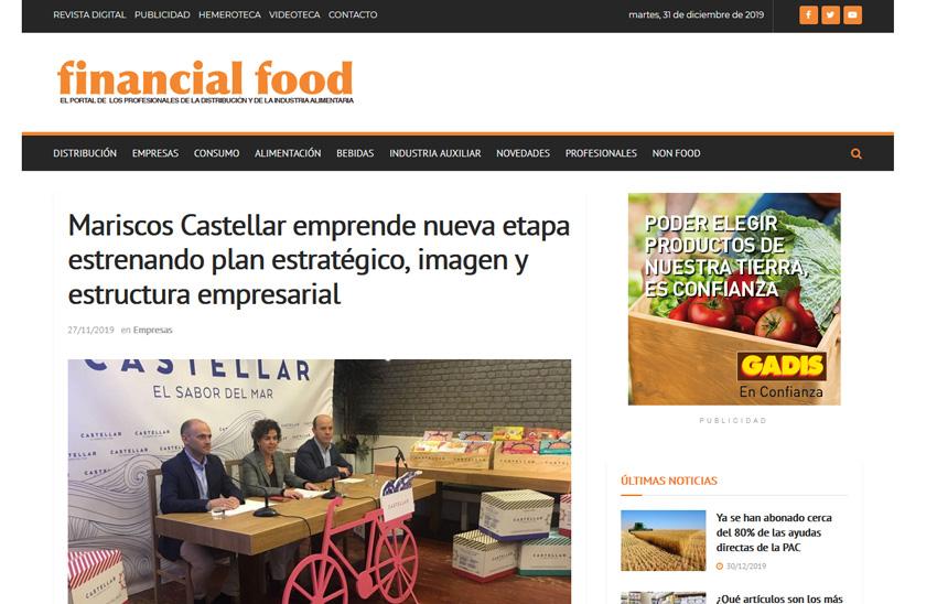 FINANCIAL FOOD – Mariscos Castellar emprende nueva etapa estrenando plan estratégico, imagen y estructura empresarial