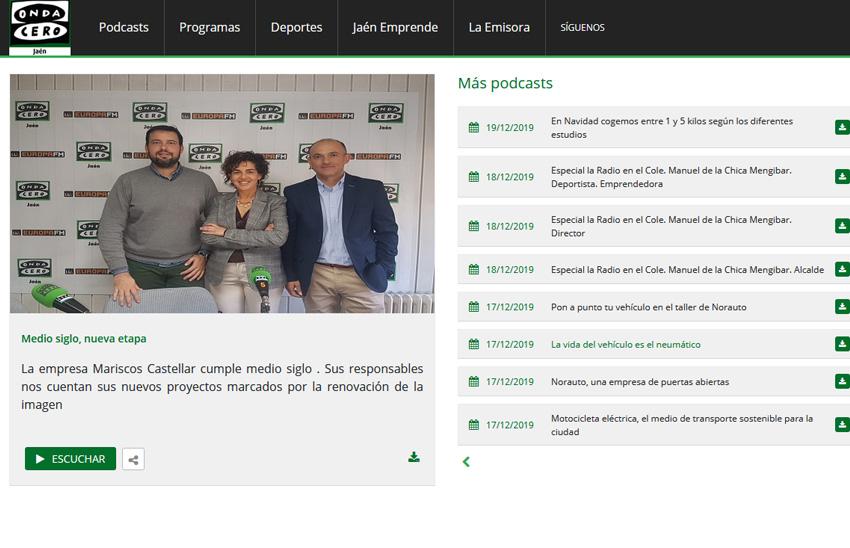 PODCAST – Onda Cero Jaén