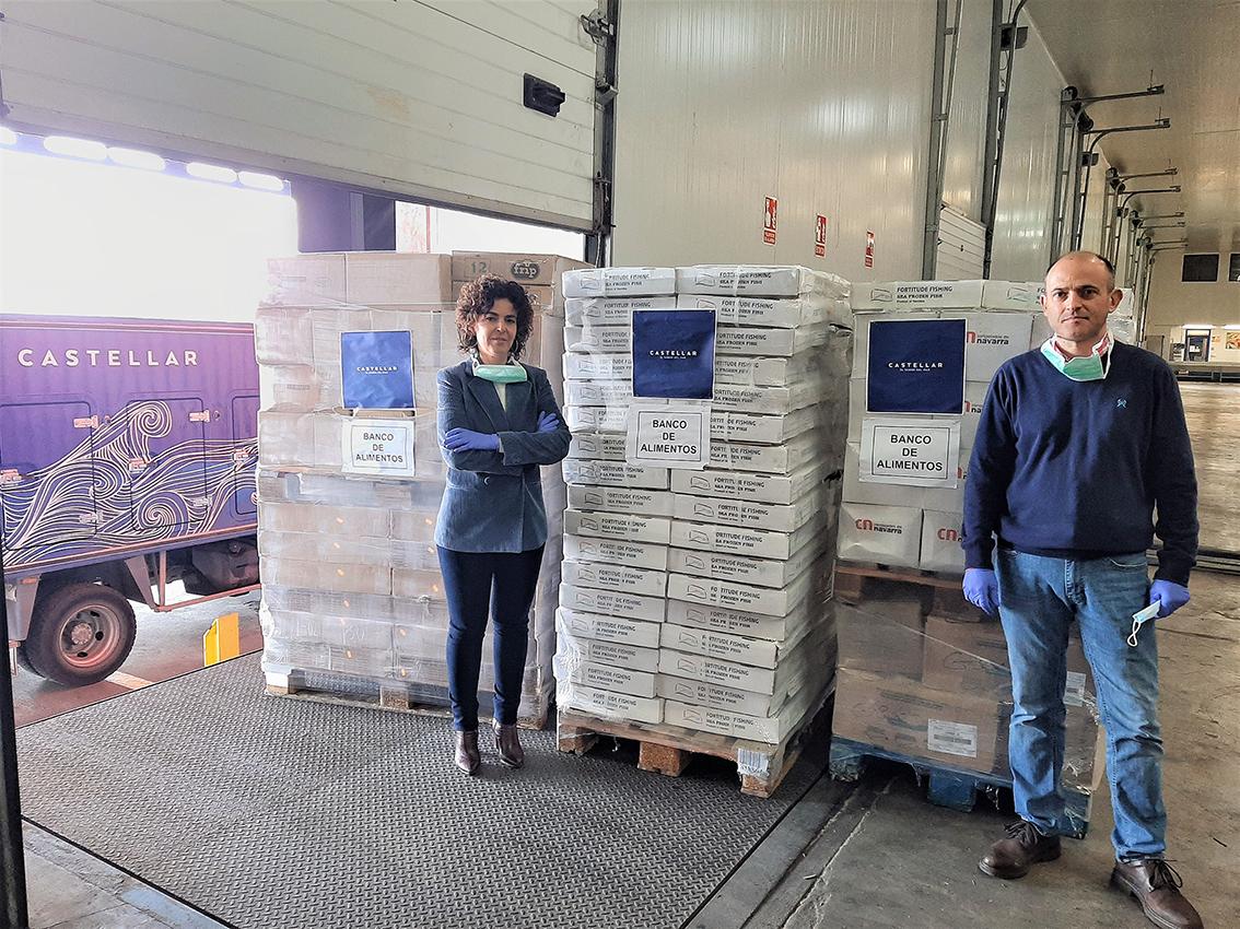 MARISCOS CASTELLAR DONA 2.000 KILOS DE PRODUCTOS A PERSONAS SIN RECURSOS A TRAVÉS DEL BANCO DE ALIMENTOS DE JAÉN