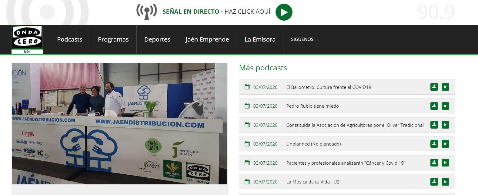 ONDA CERO JAÉN- Entrevista a Josefina García Calero, Directora General de Mariscos Castellar en la feria Jaén Distribución.