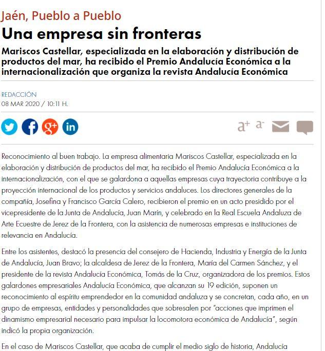 DIARIO JAÉN-Una empresa sin fronteras.