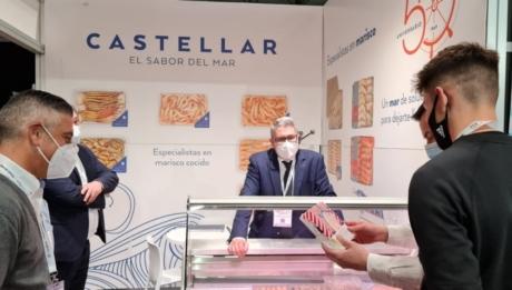 Mariscos Castellar shows its proposals at HIP 2021