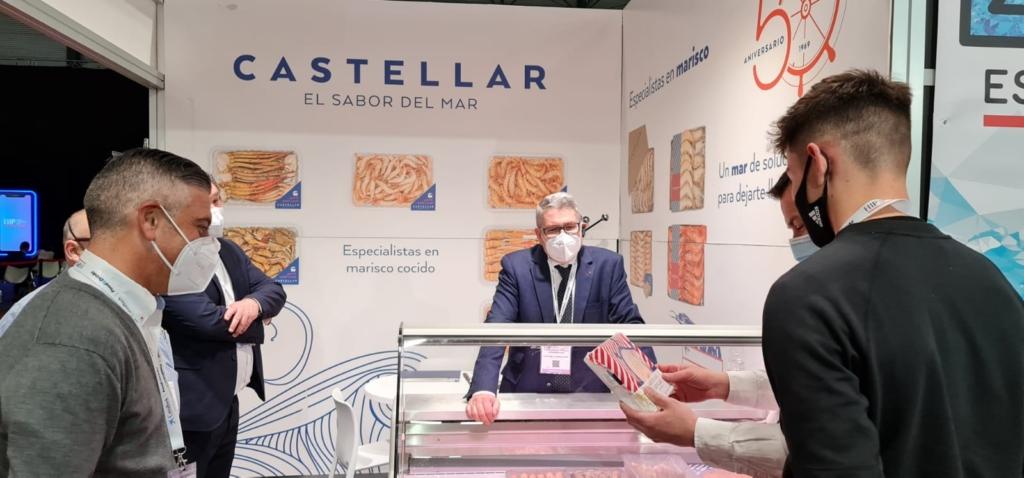 Stand de Mariscos Castellar en HIP 2021